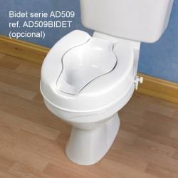 BIDET ACOPLABLE EN WC ELEVADOR