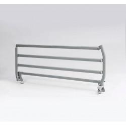 Verso II - barandillas de metal - gris claro
